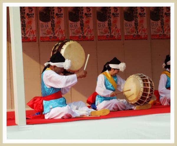 곡선동 전통어울림 풍물단 일본공연