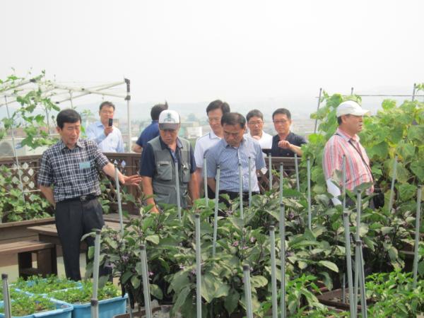 농수산식품부 도시농업과정 연수생 방문