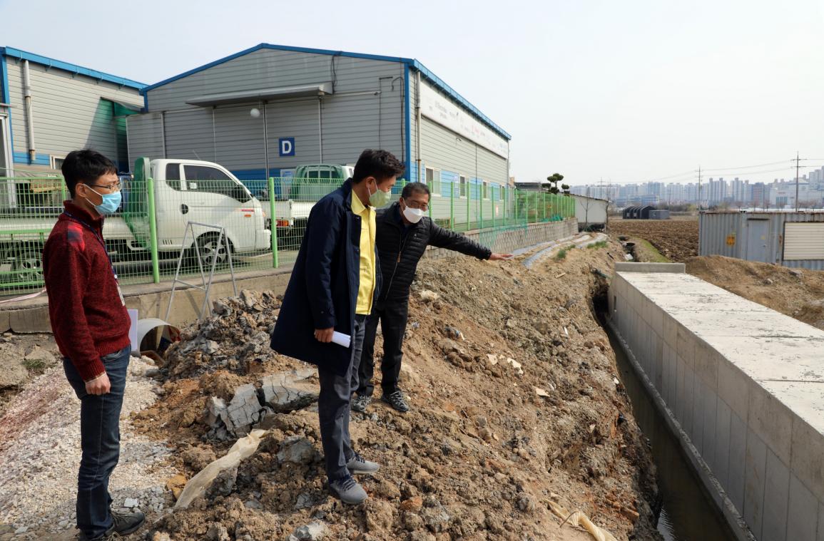 04.02. 벌터마을 도로개설현장 등 현장방문